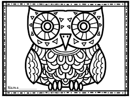 Halloween Coloring Pages Owls Halloween Owl Coloring Pages 34