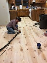 how to diy finish wide plank pine floors using water based bona system bona amberseal bona mega why we chose waterbased floor finish