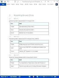 User Manual Template Download Free Guide Word Document Software ...