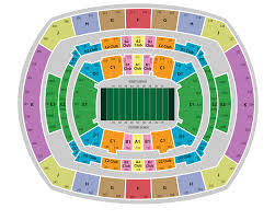 Ticket Monster Metlife Stadium Seating Chart And Best Seats