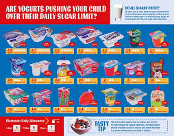 Sugar Content In Drinks Chart Uk How Much Sugar Is In Yogurts If Youre Giving Your Kids Any