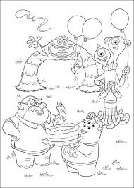 Small Picture Kids n funcom 45 coloring pages of Monsters University