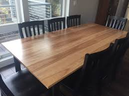 cherry windfall dining table with leaf extentions