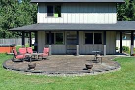 construction raised bed concrete patio finished raised patio finished raised patio elevated concrete patio deck how much does a raised paver patio cost