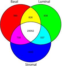 Cell Venn Diagram Similarity Of Prostate Cell Transcriptomes A Venn Diag Open I