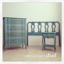 chalk paint bedroom furnitureThe Melinda Bedroom Collection  Thirty Eighth Street