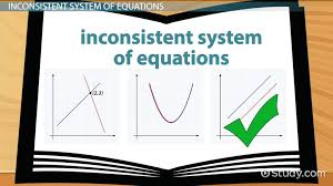 inconsistent system of equations definition example