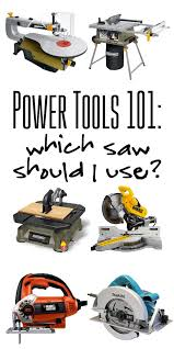 carpenter tools list. power tools 101: which saw should i use carpenter list