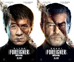 The foreigner could have been a great entertainment, rather than a forgettable one. First Look Action Stars Jackie Chan And Pierce Brosnan In New The Foreigner Posters Anglophenia Bbc America