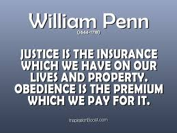 william penn quotes insurance quotes