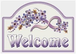 welcome back signs printable welcome back signs printable good artbyjean purple wood roses make
