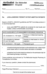 Strategies For Implementing Lipid Lowering Therapy Pharmacy Based