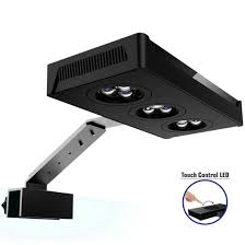Hipargero Led Aquarium Light Aquarium Led Lights 30w Saltwater Lighting With Touch Control And 3w Cree Chips For Coral Reef Fish Nano Tank