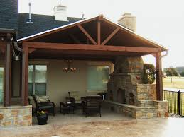 Attached Covered Patio Plans Patio Designs