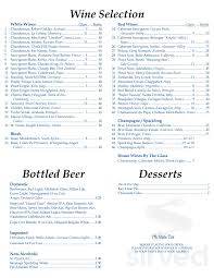 The Chart Room Menu Menu For Chart Room In Osterville Massachusetts Usa