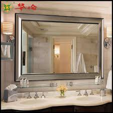 long bathroom mirrors. Bathroom Cabinets Bronze Mirror Frameless Long Throughout Dimensions 1000 X Mirrors R