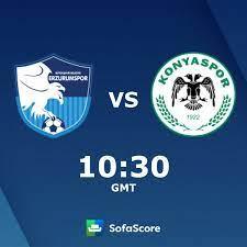 BB Erzurumspor vs Konyaspor live score, H2H and lineups