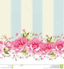Vector Floral Vintage Wallpaper ...
