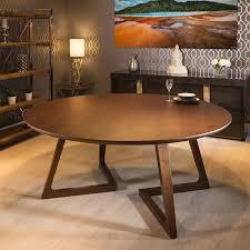quatropi luxury large 10 seater 180cm luxury round dining table walnut