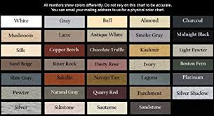 Grout Chart Skm Grout Aide Grout And Tile Marker Slate Gray 33 Colors Available