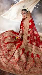 bridal colour lehenga trends 2016 indian fashion mantra Wedding Lehenga 2016 impressive red velvet bridal lehenga choli with heavy wedding lehengas 2016