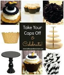 gold cupcake holder top graduation cupcake decoration ideas gold cupcake holder