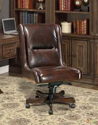 armless executive chair. Awesome Distressed Brown Top Grain Leather Executive Chair With Height Back Armless Office Chairs Also T