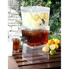 3 gal drink dispenser beverage drink dispenser boxed 3 gallon water lemonade tea container 3 gallon