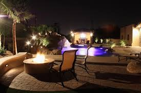 custom landscape lighting ideas. picture the ultimate backyard provided by unique custom pools landscape lighting ideas