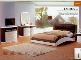 Modern Bedrooms Sets White Dark Chocolate Finish Modern Bedroom W Options