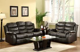 Reclining Living Room Set Leather Reclining Living Room Set Andifurniturecom