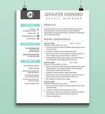 Creative Resume Template Cv Cover Letter Modern Functional