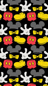 Disney Patterns Mesmerizing Mickey Mouse Repeat Pattern Surface Design Wallpaper Free Disney Art