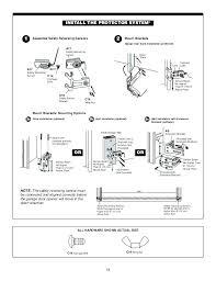chamberlain garage door opener installation instructions garage door opener review the construction