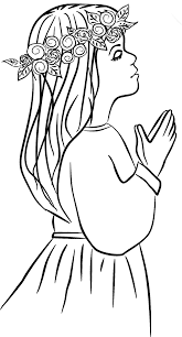 Holy Communion Coloring Pages For Kids First Holy Communion