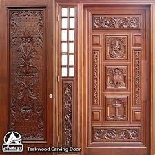 carving doors teak wood door cost