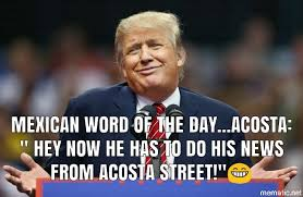 Mexican Word Of The Day Acosta