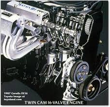 corolland toyota corolla engines fx16 engine