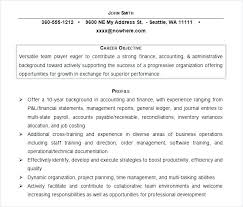 Sample Resume Career Objectives Resume Career Objective Examples ...