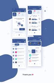 Facebook Interface Design Designing Facebook Profile Matching System On Behance App
