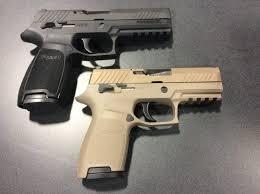 Sig Sauer Gives Us A Look At Their Modular Handgun System Candidate
