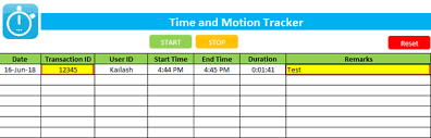 Time Study Excel Templates Best Time And Motion Study Excel Template Right Now Updated