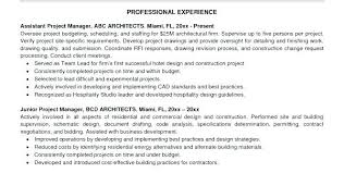 Sample Resume Project Manager Project Management Resume Buzzwords