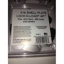 Hornady Lnl Ap Shell Plate Chart Hornady Lock N Load 16 Shell Plates 223 Rem 380 Auto And Others 392616 New