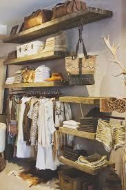 furniture display ideas. salvaged wood shelving great display idea for the closet furniture ideas