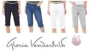 Gloria Vanderbilt Jeans Size Chart Details About New Ladies Gloria Vanderbilt Marnie Skimmer Capris Variety