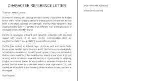 Student Character Reference Letter Personal Reference Letter Ericremboldt Com
