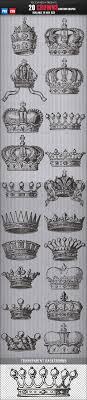 20 Crowns Custom Shapes Lukáš Tattoo Krone Kronen Tattoos A