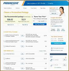 Progressive Car Insurance Quote