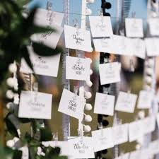 Wedding Escort Cards Vs Place Cards Whats The Difference